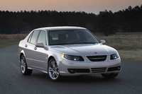 2009 Saab 9-5, Front Right Quarter View, exterior, manufacturer