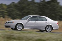 2009 Saab 9-5, Left Side View, exterior, manufacturer