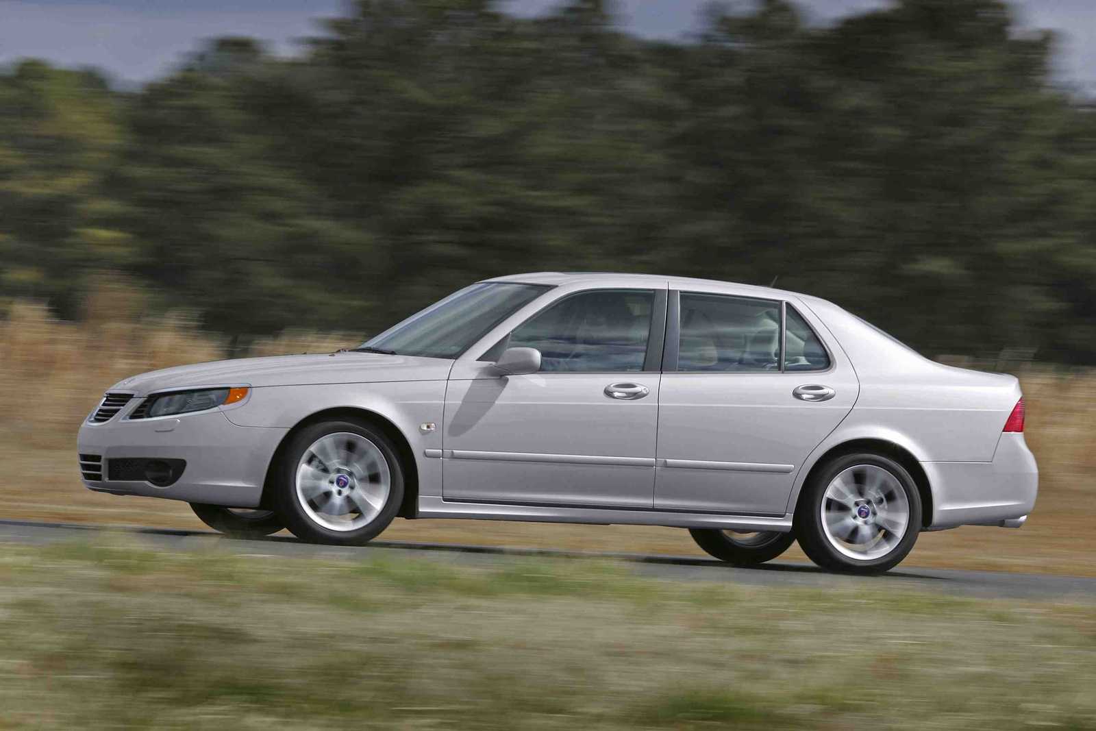 2009 Saab 9-5, Left Side View, manufacturer, exterior