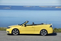 2009 Saab 9-3 Aero Convertible, Left Side View, exterior, manufacturer