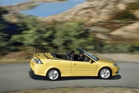 2009 Saab 9-3 Aero Convertible, Right Side View, exterior, manufacturer