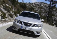 2009 Saab 9-3 2.0T SportCombi Touring Wagon, Front View, exterior, manufacturer
