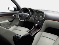2009 Saab 9-3 Aero, Interior Front Seat View, exterior, manufacturer