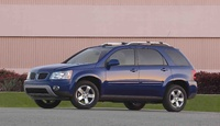 2009 Pontiac Torrent, Front Left Quarter View, exterior, manufacturer