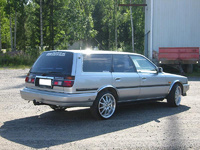 1990 Toyota Camry DX Wagon, 1990 Toyota Camry 4 Dr Deluxe Wagon picture, exterior
