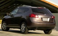 2009 Nissan Rogue, Back Left Quarter View, exterior, manufacturer