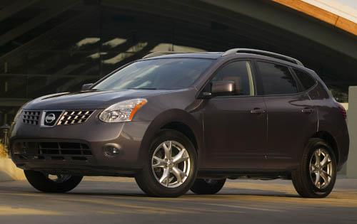2009 Nissan Rogue, Front Left Quarter View, manufacturer, exterior