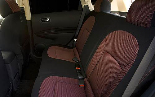 2009 Nissan Rogue, Interior Back View, interior, manufacturer