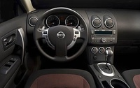 2009 Nissan Rogue, Interior Dash View, interior, manufacturer