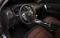 2009 Nissan Rogue, Interior Front View, interior, manufacturer