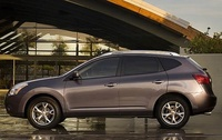 2009 Nissan Rogue, Left Side View, manufacturer, exterior