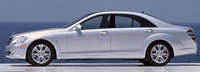 2009 Mercedes-Benz S-Class, Left Side View, manufacturer, exterior