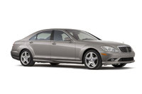 2009 Mercedes-Benz S-Class, Right Front Quarter View, exterior, manufacturer, gallery_worthy