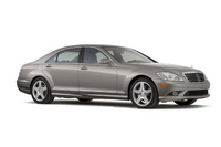 2009 Mercedes-Benz S-Class, Right Front Quarter View, exterior, manufacturer