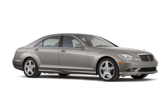 2009 Mercedes-Benz S-Class, Right Front Quarter View, manufacturer, exterior