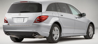2009 Mercedes-Benz R-Class, Back Right Quarter View, manufacturer, exterior