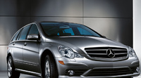 2009 Mercedes-Benz R-Class, Front Right Quarter View, manufacturer, exterior