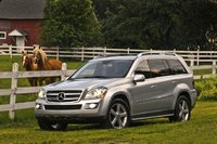 2009 Mercedes-Benz GL-Class, Front Left Quarter View, exterior, manufacturer