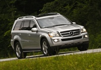 2009 Mercedes-Benz GL-Class, Front Right Quarter View, manufacturer, exterior