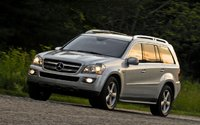 2009 Mercedes-Benz GL-Class, Left Side View, exterior, manufacturer