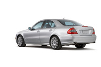 2004 Mercedes-Benz E-Class, Back Left Quarter View, manufacturer, exterior