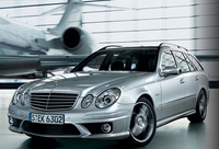 2009 Mercedes-Benz E-Class E63 AMG, Front Left Quarter View, manufacturer, exterior