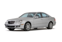 2003 Mercedes-Benz E-Class, Front Left Quarter View, manufacturer, exterior
