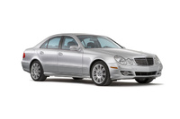 2009 Mercedes-Benz E-Class, Front Right Quarter View, manufacturer, exterior