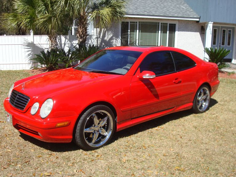 2002 Mercedes-Benz CLK430 2 Dr CLK430 Coupe picture