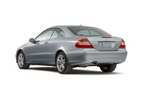 2009 Mercedes-Benz CLK-Class, Back Left Quarter View, manufacturer, exterior