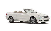 2004 Mercedes-Benz CLK-Class, Front Right Quarter View, exterior, manufacturer, gallery_worthy