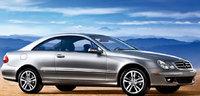 2009 Mercedes-Benz CLK-Class, Front Right Quarter View, exterior, manufacturer