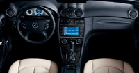 2009 Mercedes-Benz CLK-Class, Interior Front View, manufacturer, interior