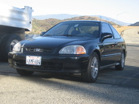 1997 Honda Civic HX Coupe, 1997 Honda Civic 2 Dr HX Coupe picture, exterior