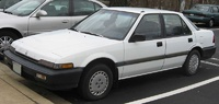 1987 Honda Accord LX, 1987 Honda Accord Sedan LX picture, exterior