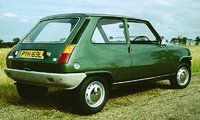 1972 Renault 5 Picture Gallery