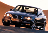 1995 BMW M3 Coupe, 1995 BMW M3 2 Dr STD Coupe picture, exterior