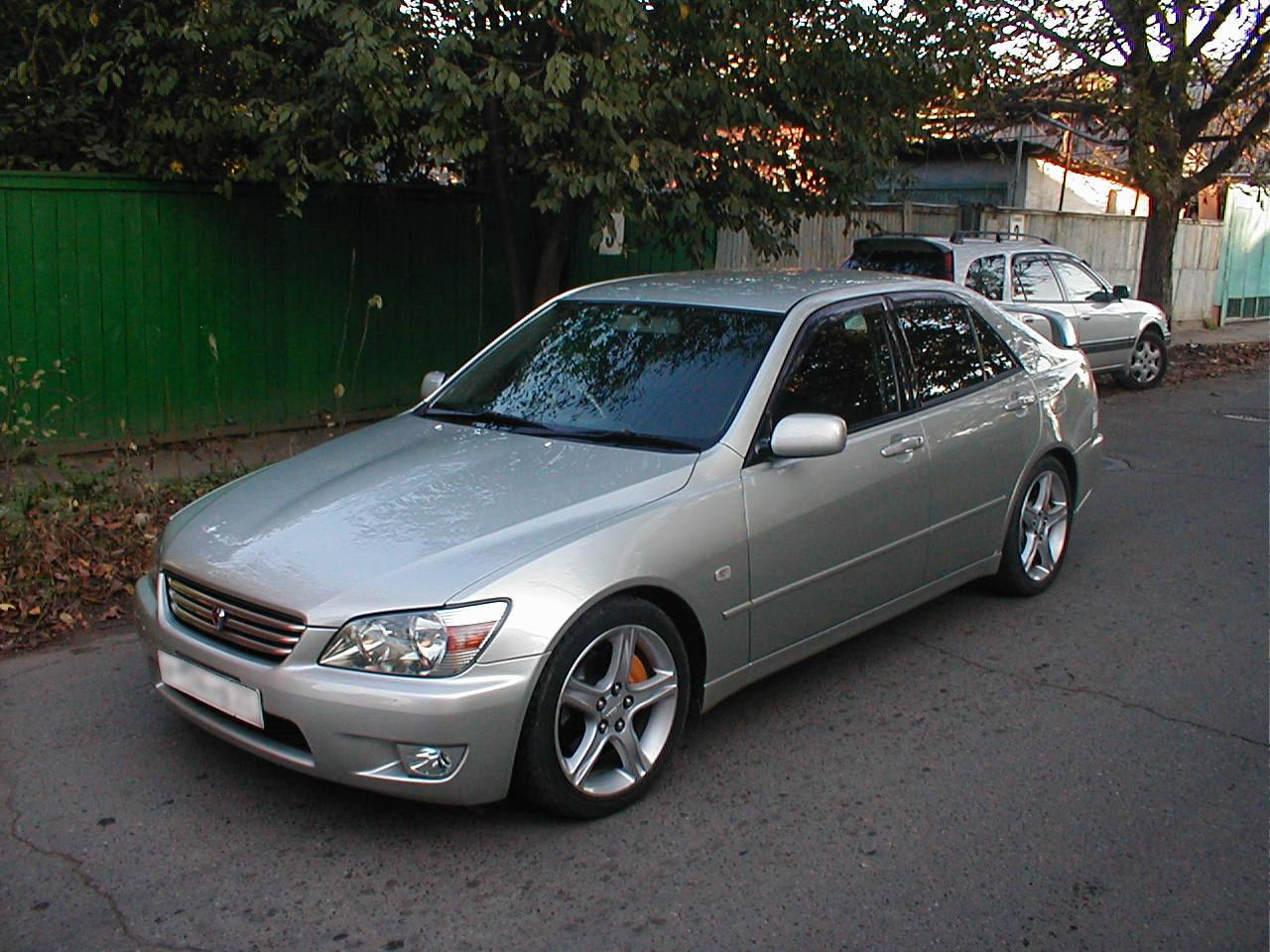 2001 b Lexus IS 200/b, Pictu…