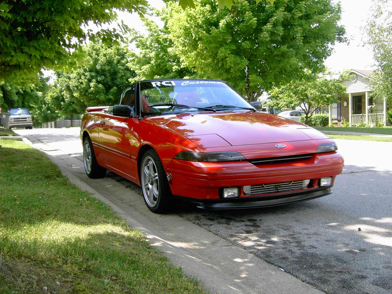 Picture of 1991 Mercury Capri 2 Dr XR2 Turbo Convertible, exterior