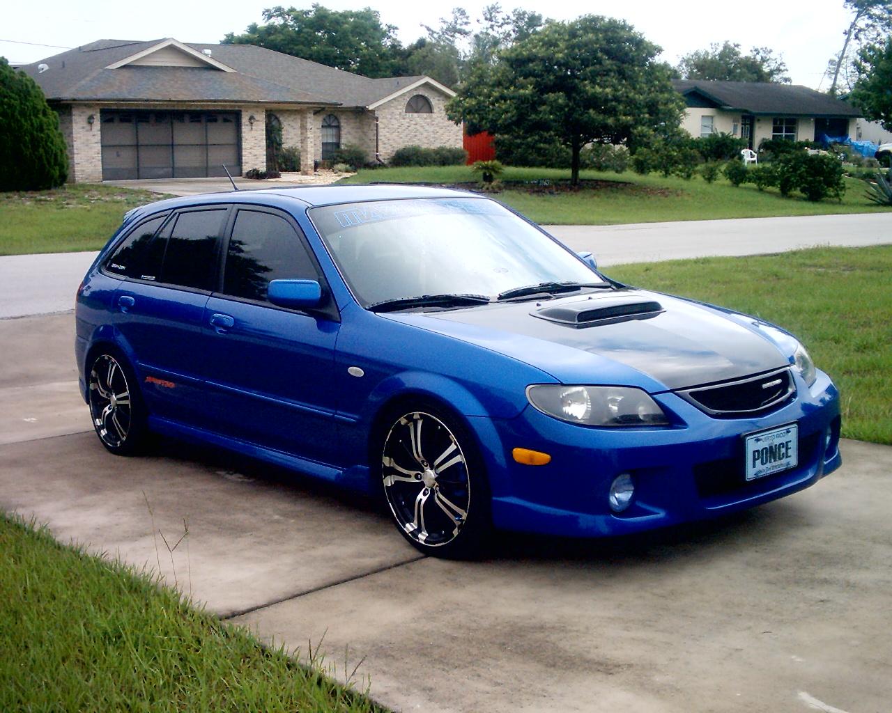 2003 Mazda Protege5 - Pictures - 2003 Mazda Protege5 4 Dr STD W ...