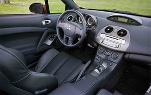2009 Mitsubishi Eclipse - Interior Pictures - 2009 Mitsubishi Eclipse GT pic