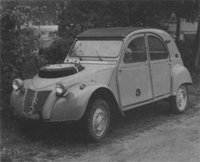 1958 Citroen 2CV Overview