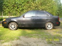 Picture of 2003 Hyundai Accent GL Sedan FWD, exterior, gallery_worthy