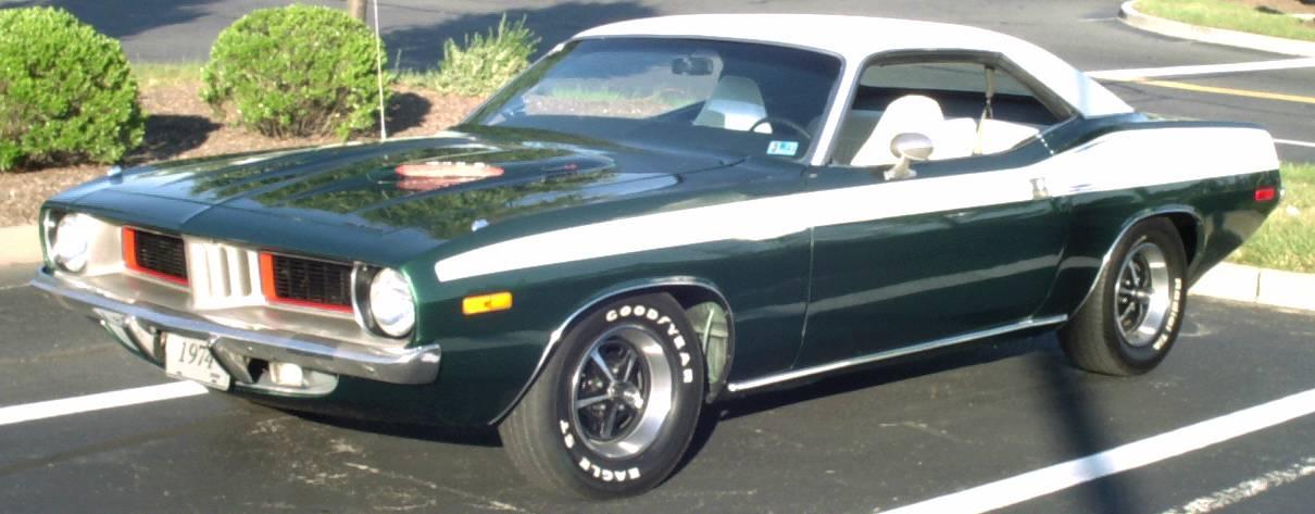 barracuda car 1974 - photo #47