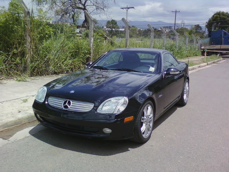 2004 Mercedes-Benz SLK230 2 Dr SLK230 Kompressor Supercharged Convertible picture