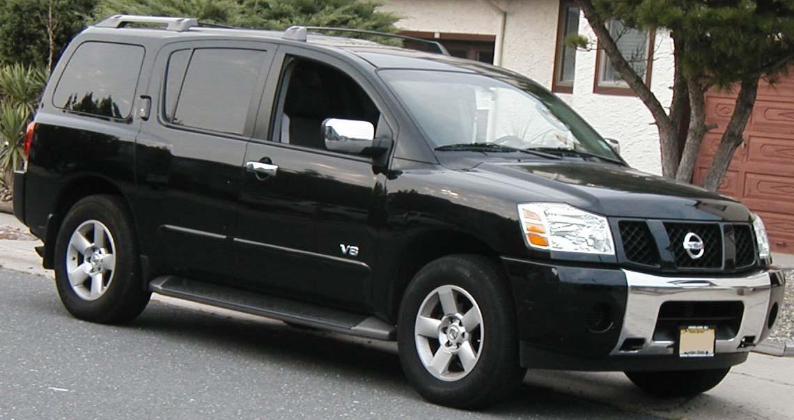 2005 Nissan Armada Fuse Box