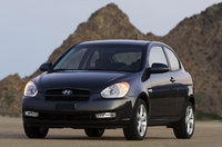 2009 Hyundai Accent, Front Left Quarter View, exterior, manufacturer, gallery_worthy