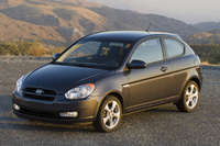 2009 Hyundai Accent, Front Left Quarter View, manufacturer, exterior