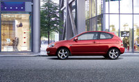 2009 Hyundai Accent, Left Side View, exterior, manufacturer