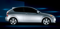 2009 Hyundai Accent, Right Side View, manufacturer, exterior